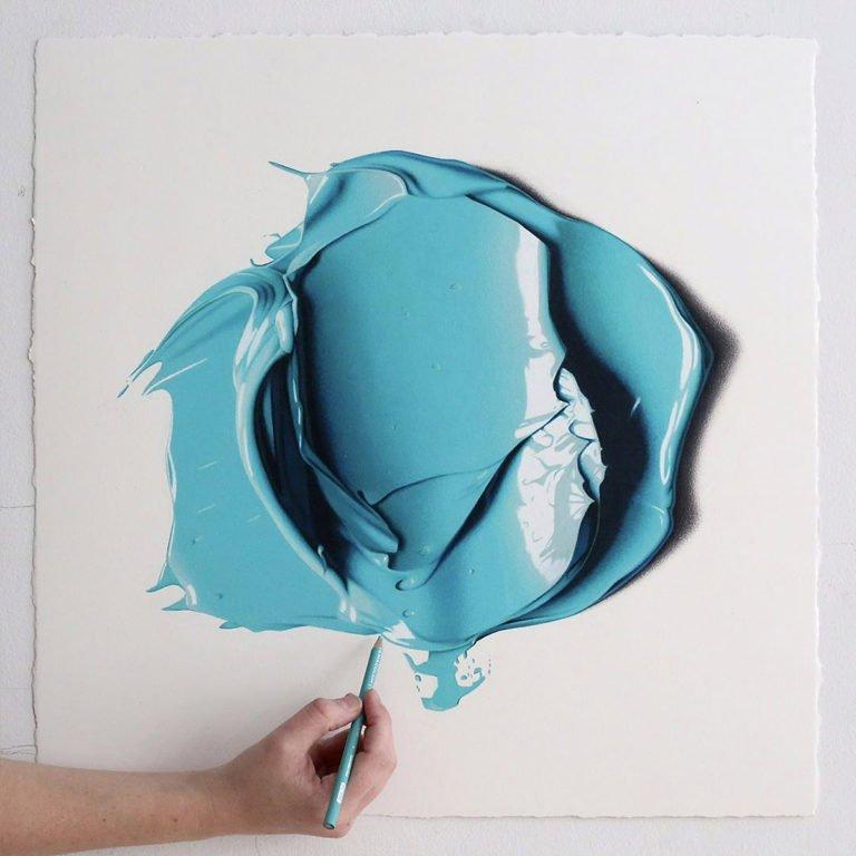 Disegni a mani iperrealistici di CJ Hendry 1