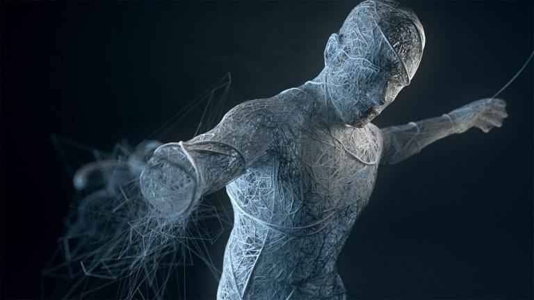 Sculture digitali di Bryan Coleman   Disintegration 6