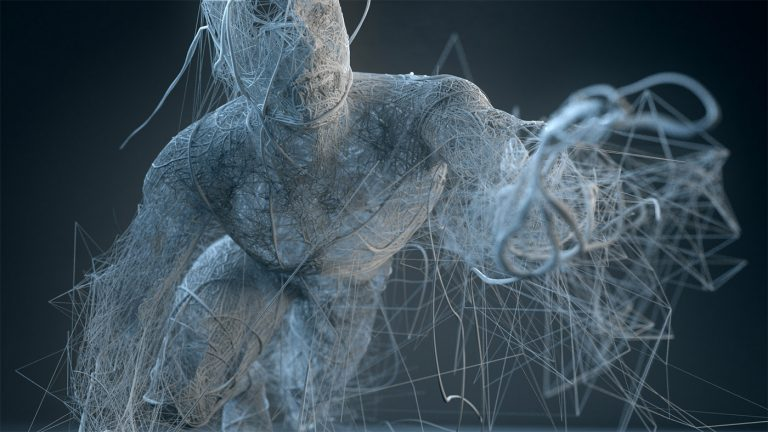 Sculture digitali di Bryan Coleman   Disintegration 4