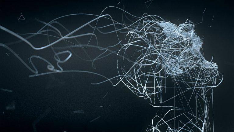 Sculture digitali di Bryan Coleman   Disintegration 7