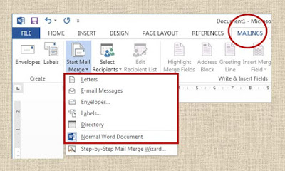 implement Mail Merge in Documents