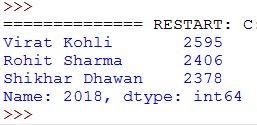 select data using column name
