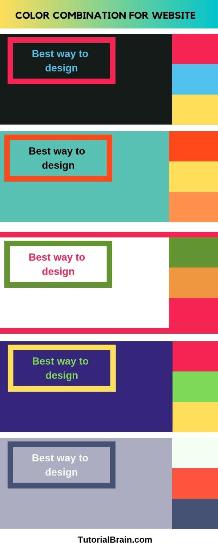 HTML Colors — Free online Tutorials — TutorialBrain
