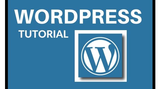 WORDPRESS TUTORIAL fromTutorialBrain