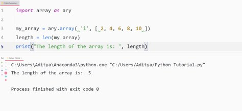 Python length method - len() function