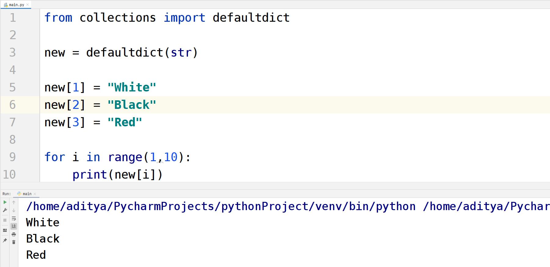 Python Collections — TutorialBrain
