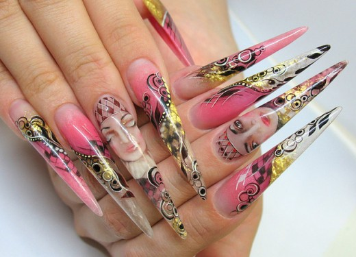 1000 Images About Nagels On Nails Glitter And Nail Art