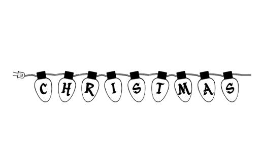 50 Elegant Free Christmas Fonts TutorialChip