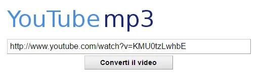 sito dove scaricare mp3 da youtube