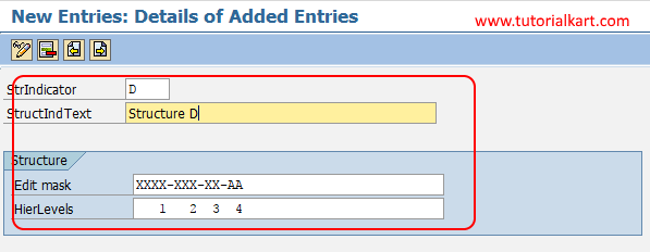 Structure Indicator for Functional Locations in SAP