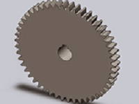 Make Spur Gear With SolidWorks