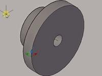 Use Revolve Menu on Auto CAD