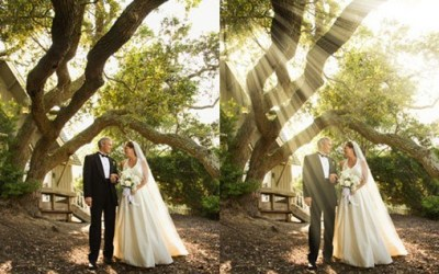 Mystical Light Shaft Photoshop Tutorial