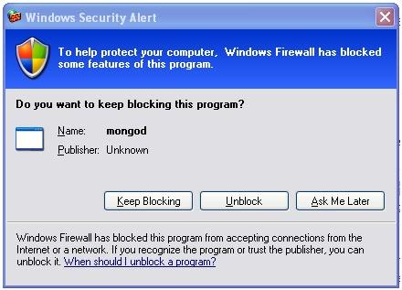 mongo-db-install-firewall-unblock - Tutorial SavvyTutorial Savvy