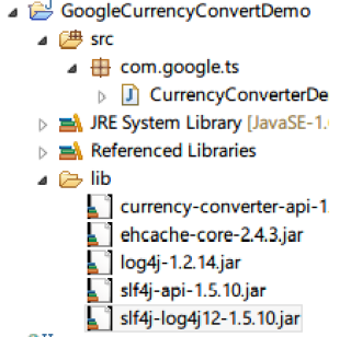 Google Currency Converter Demo With Eclipse Java Project -Tutorial Savvy