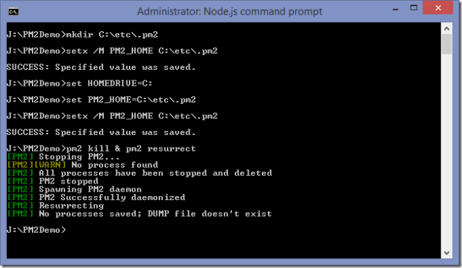 PM2 Process Manager For NodeJS in Windows -Tutorial Savvy