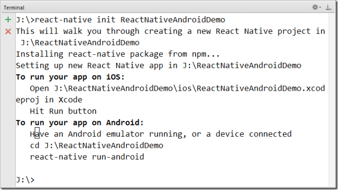 React Native Android Application Development In Windows -Tutorial Savvy