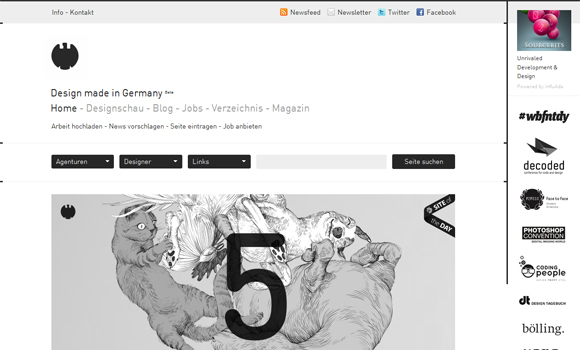 10 Best CSS Designs - Inspiration of the Week #02 6