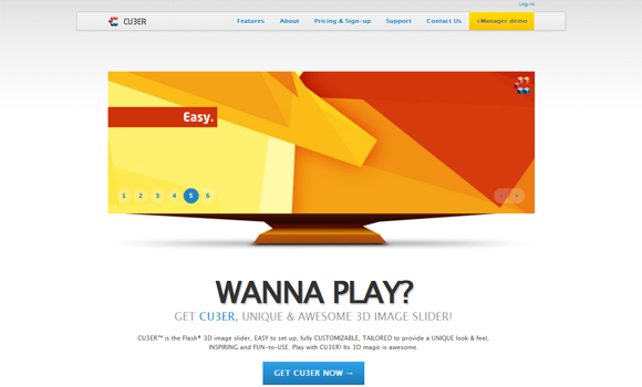 15 Most Wanted Web Designs – Inspiration of the Week #01 9