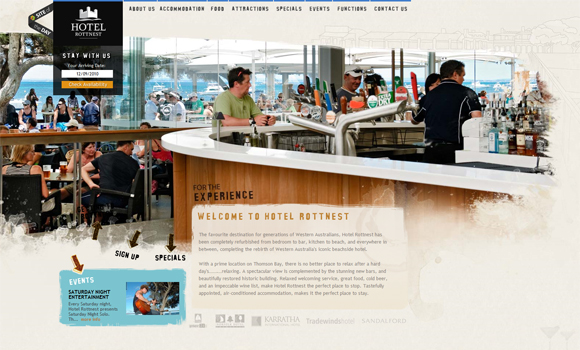 15 Most Wanted Web Designs – Inspiration of the Week #01 11