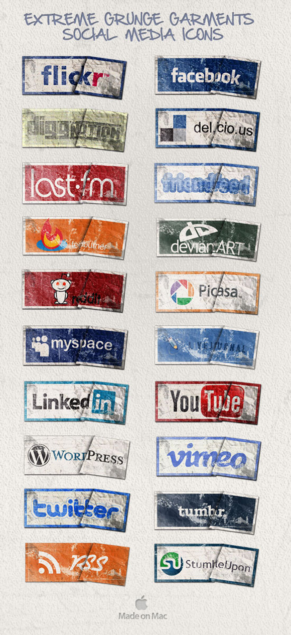 15 Free Social Media Icon Packs - Freebies 3