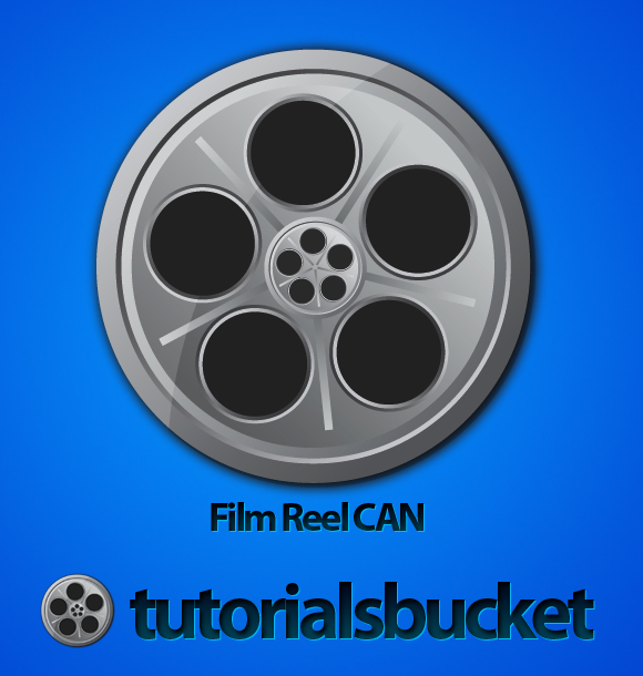 Film Can & Clapper Board vector in Adobe Illustrator CS5 - Final