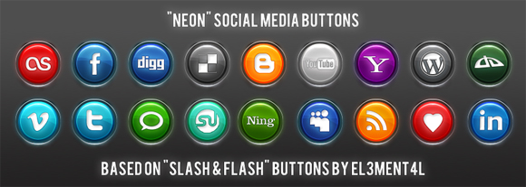 15 Free Social Media Icon Packs - Freebies 13
