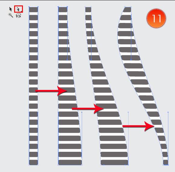 Film Can, Reel and Clapper Board Vector Tutorial in Illustrator CS5 – Part III 42