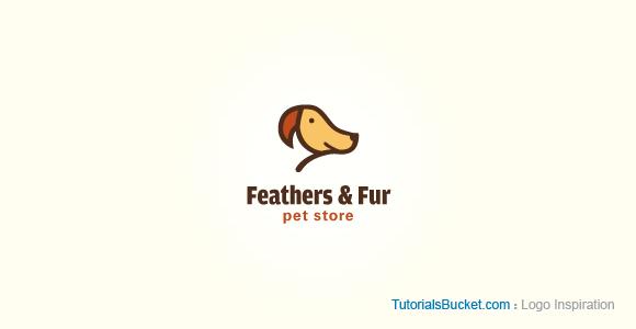 Feathers & Fur Pet Store - Logo