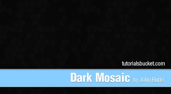 Dark Mosaic Pattern