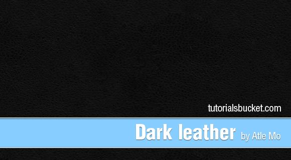 Dark leather Pattern