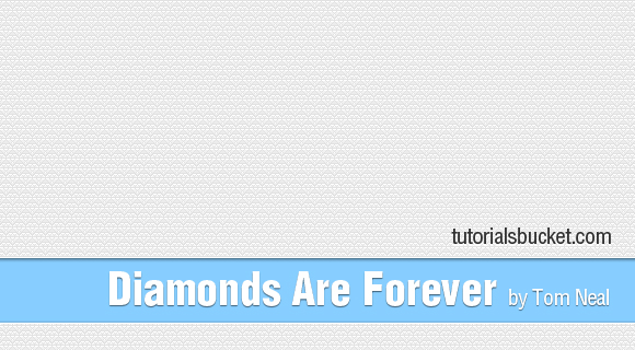 Diamonds Are Forever Pattern