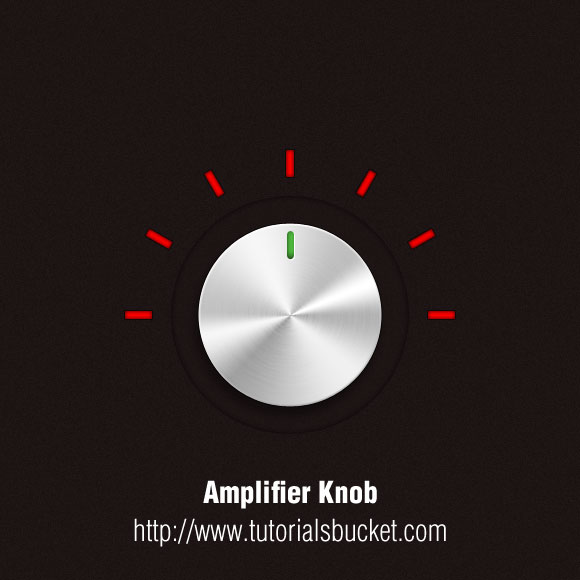 How to create Amplifier knob 16