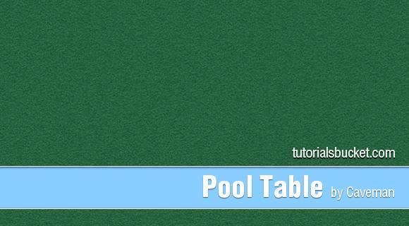 Pool Table Pattern