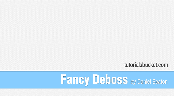 Fancy Deboss Pattern