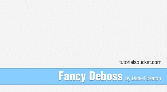 Fancy Deboss Pattern