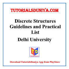Discrete Structures Guidelines and Programs List PDF