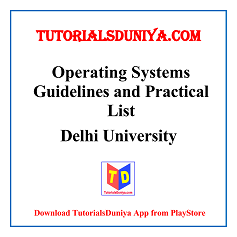Operating System Guidelines and Programs List PDF