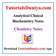 Analytical Clinical Biochemistry Notes PDF