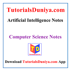 Artificial Intelligence Notes PDF