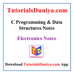 C Programming and Data Structures Notes PDF