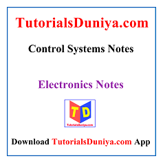 Control Systems Notes PDF
