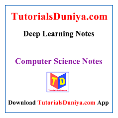 Deep Learning Notes PDF