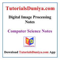 Digital Image Processing Notes PDF