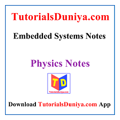 Embedded Systems Notes PDF