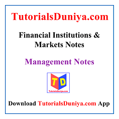 Financial Institutions and Markets Notes PDF