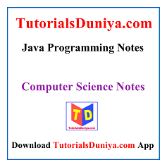 Java Programming Notes PDF