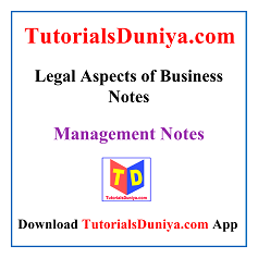 Legal Aspects of Business Notes PDF