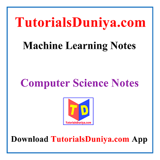 Machine Learning Notes PDF