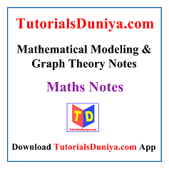 Mathematical Modeling & Graph Theory Notes PDF